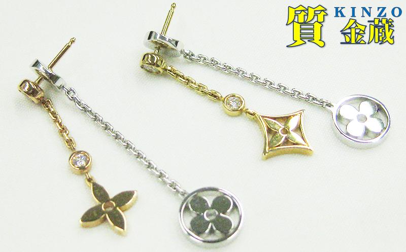 ブックル ドレイユ モノグラム・イディール ダブル チェーン