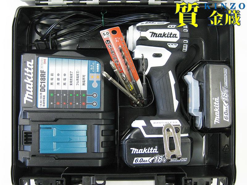 充電式インパクトドライバ